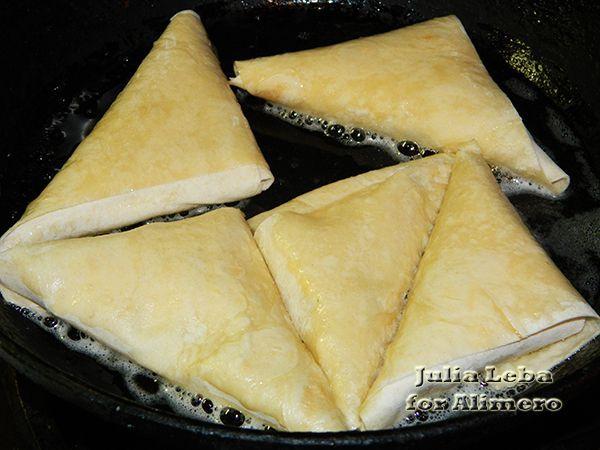 Пирожки из лаваша. Вкусно и сытно!)