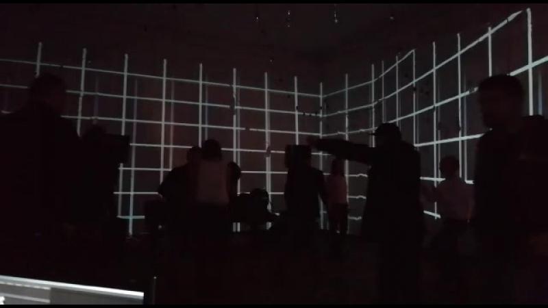 Мои видео инсталяции для 4.20 music lab
