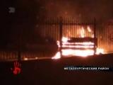Около больницы из-за курильщика начался пожар.