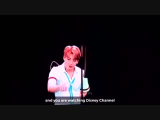 when army screaming MY NAME IS JUNGKOOK AND YOU'RE WATCHING DISNEY CHANNEL during VCR whol