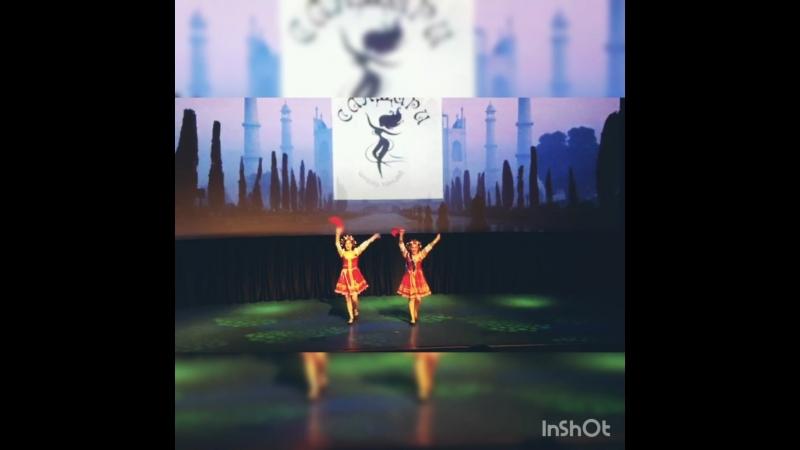Казачий танец Молодычка День рождения студии Сандари танец сюрприз хореография Ляпина З Н