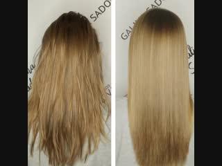 Ботокс волос для Елизаветы