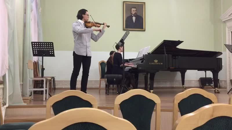 Моцарт Соната для скрипки и фортепиано D dur