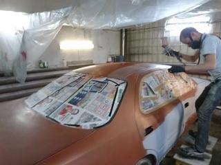 Покраска Toyota Cresta