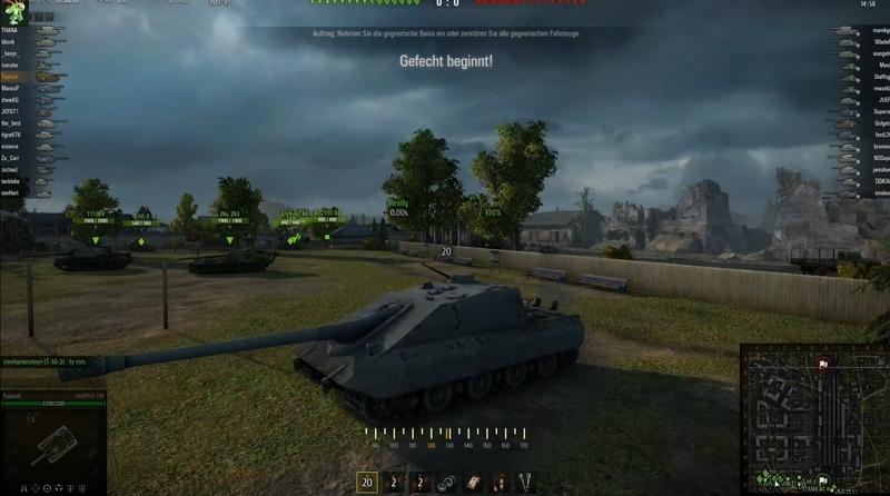 WoT World of Tanks Gameplay Krokodil Runde 289