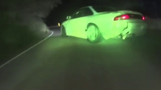 The real street DRIFT in Japan touge