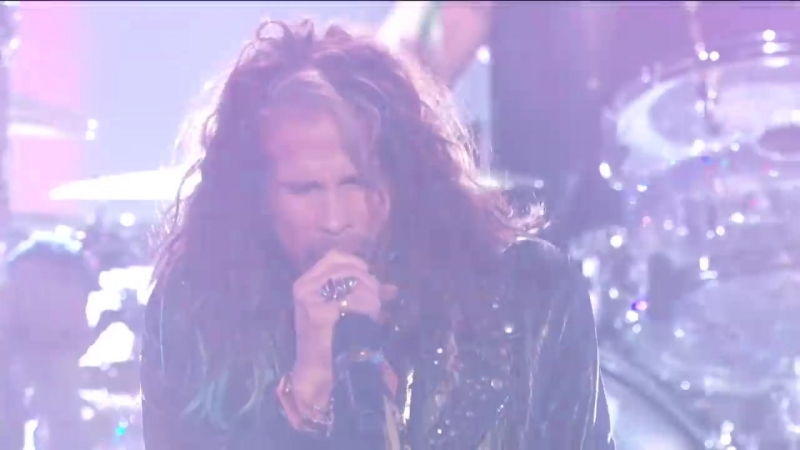 Post Malone Aerosmith ft. 21 Savage Perform Rockstar Dream On More! [СТИЗИ]