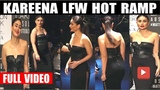 Kareena Kapoor Looks Stunning As Show Stopper At Lakme Fashion Week 2019 GRAND FINALE