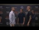 Стердауны участников турнира UFC Hamburg