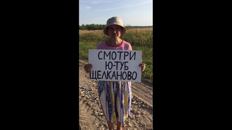 Одиночные пикеты. Щелканово, Сычево. 26.08.2018