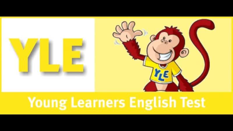 English for children. Cambridge YLE Starters Listening Practice - SB1 Test 1 Par