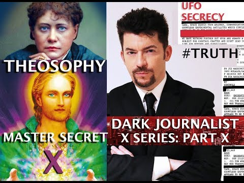 THEOSOPHY MASTER HILARION SECRET RAD LAB THE UFO FILE! DARK JOURNALIST X-SERIES PART X (1)
