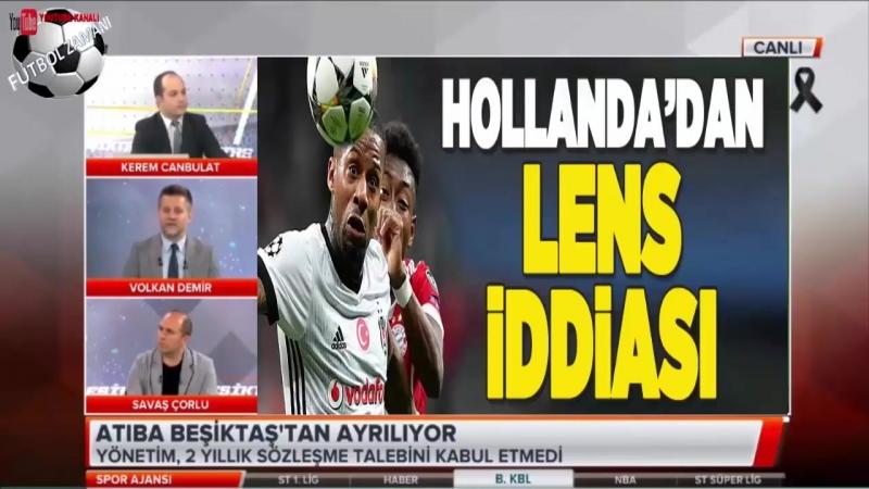 Atiba Beşiktaştan Ayrılıyor 16 Mayıs 2018