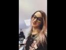 Яна в студии Винтаж Рекордс.
