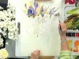 Janet Rogers Expressive Watercolor Florals DVD