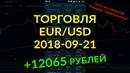 12000 рублей Лживый треугольник Торговля с телефона на Olymp Trade 21 09 2018
