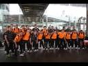 Bastidores da chegada da ACBF na Tailândia