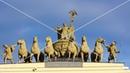 Дворцовая площадь. Петербург. Таймлапс и гиперлапс. Футаж