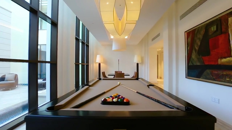 Mediterranean Style Mansion on the Crystal Lagoon in Dubai, United Arab Emirates