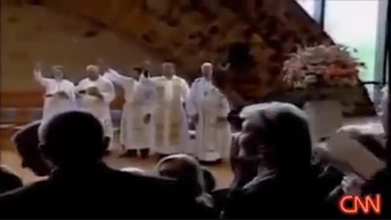 Bischöfe der katholischen Kirche bekunden offen und vor laufenden Kameras die Anbetung Satans