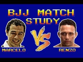 BJJ Match Study: Marcelo Garcia vs Renzo Gracie