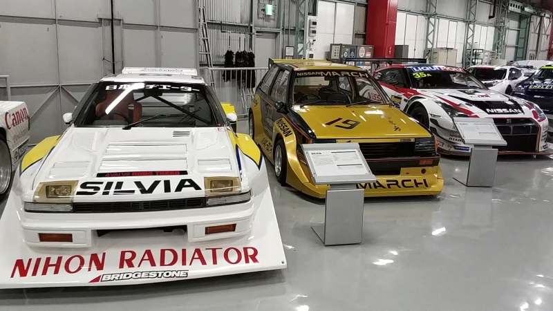 Nissan Heritage Collection: раллийные модели