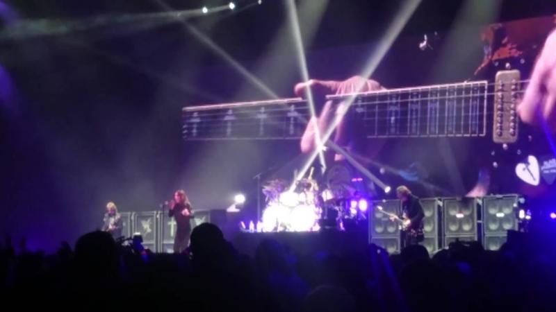 Black Sabbath 04-02-2017 Birmingham - Under The Sun THE VERY END