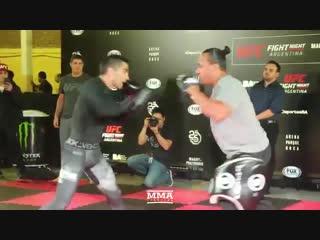 UFC Argentina: Ricardo Lamas Open Workout (Complete)