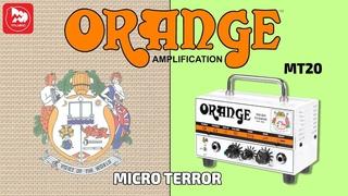 ORANGE MT20 MICRO TERROR - маленький гитарный усилитель