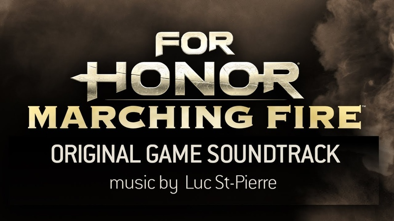 PS4 XBO For Honor Marching Fire Edition Original Game Soundtrack
