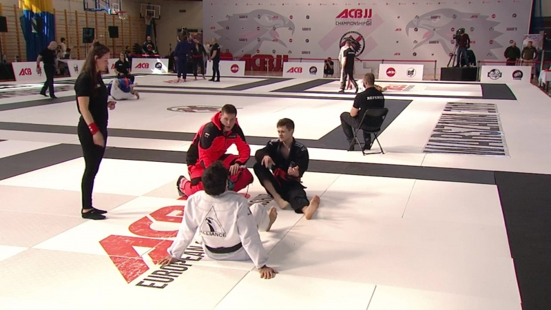 Maciej Kozak vs Ayub Magomadov ACB_JJ European Championsgip 2018