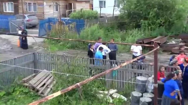 Цыганская свадьба Графини и Андрея Тюмень 2014 видео