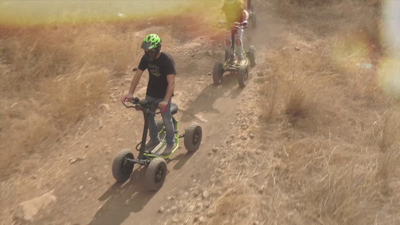 DS Extreme - Surfing on the raider in all terrain