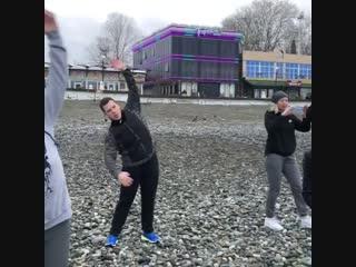 Зарядка Optimum Fitness Camp Сочи!