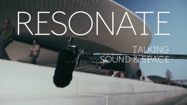 Elizabeth Diller: Sound is Always There | RESONATE - Talking Sound Space