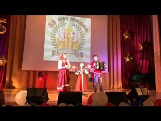 Юбилей школы Жизнеутверждающая русская народная песня в исполнении Вершининой Марии 3 Д