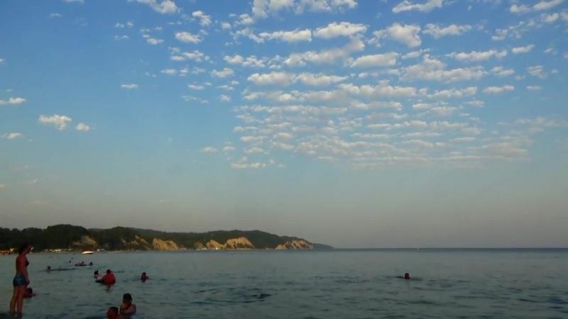 Пляжи Абхазии, август 2017, с.Лидзава (Лдзаа), р-он Рыбзавод