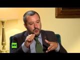"""Italiens Innenminister Salvini- """"Brüssel versteht nur die Sprache des Geldes, ni.mp4"""