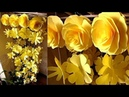 DIY. Wind Chime with Beautiful Paper Roses. Wall Hanging. Paper Craft. Декор для дома 12