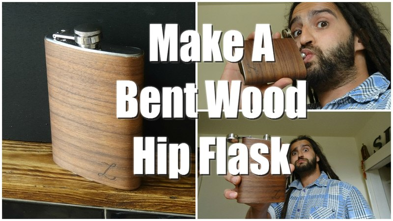 Bent Wood Hip Flask Tutorial