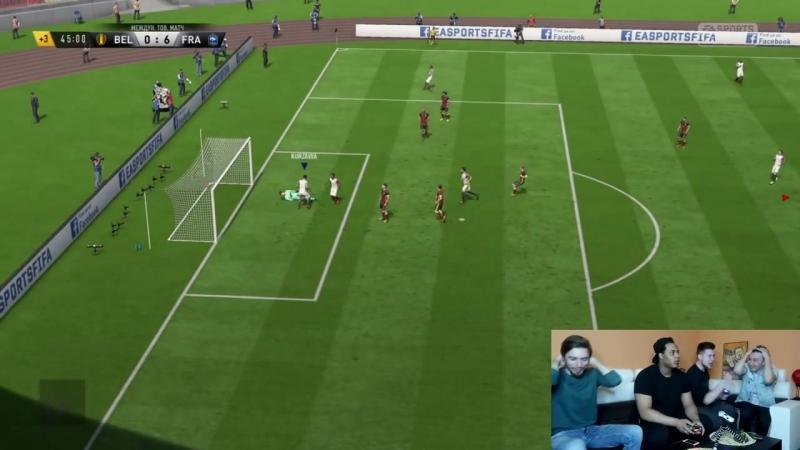 [Mozz Fifa] Блиц FIFA 18: Герман, Нечай, Джефф