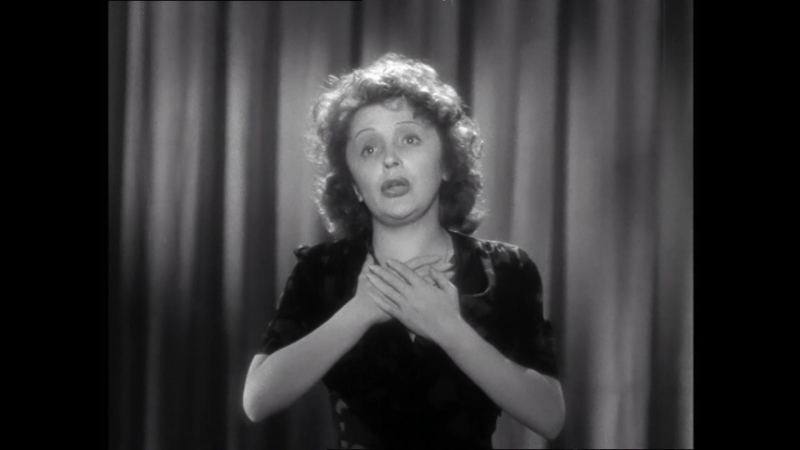 Édith Piaf Mariage Поёт Эдит Пиаф Песня с Х Ф Звезда без света Etoile sans lumiere 1946 Фрагмент фильма