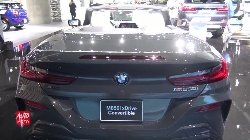 2019 BMW M850i xDrive Convertible - Exterior And Interior Walk-around - 2018 LA Auto Show