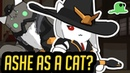 NEW HERO Ashe as a CAT NYASHE Katsuwatch Overwatch Cats