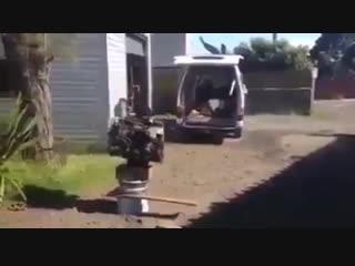 Загрузили двигатель
