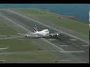 FS2004 Cross Wind Landing at Kai Tak Airport