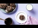 Шоколадное фондан печенье Chocolate Lava Cookies