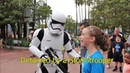Detained by a Stormtrooper at Disney's Hollywood Studios