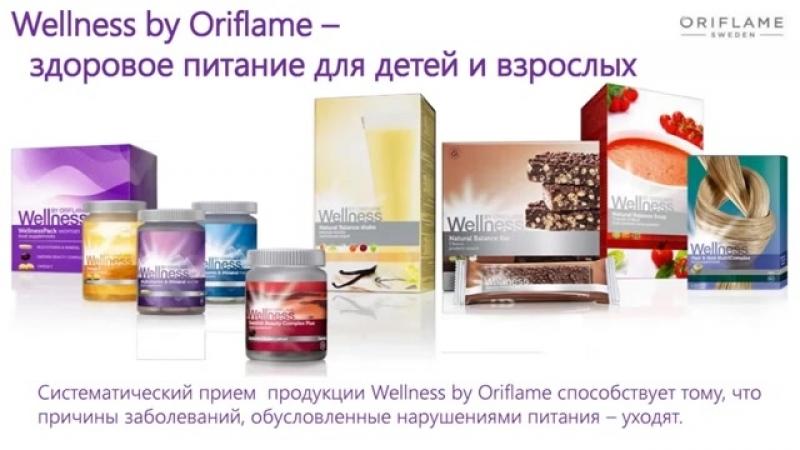 Ассортимент Wellness от Орифлэйм. Влияние Wellness на наш организм