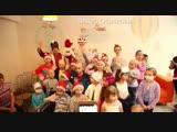 #БольшеДобра Добрая Снегурочка Анастасия Стоцкая поздравила маленьких пациентов онкоцентра